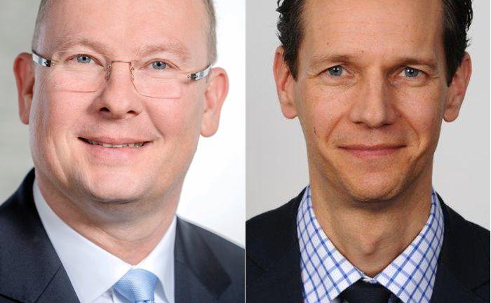 Zwei namhafte Zugänge bei der Privatbank Julius Bär im Portfoliomanagement und in der Kundenberatung: Ralf Mielke (l.) und Alexander Schmidt