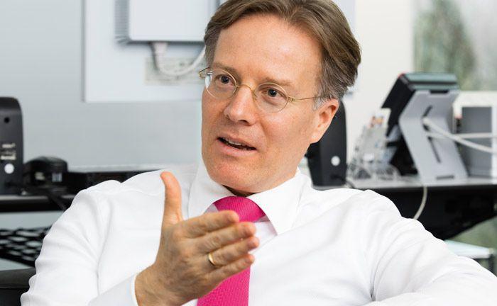 Jörg Boche, Leiter Treasury des Volkswagen-Konzerns