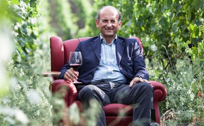 Lamberto Frescobaldi, heutiges Oberhaupt der gleichnamigen Winzerfamilie, im Weingarten von Luce|© Daniela Stubbe