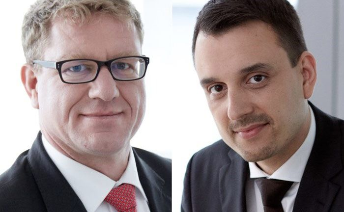 Von der Frankfurter Investmentboutique Mainsky Asset Management: Daniel Pfändler (l.) und Daniel Duarte