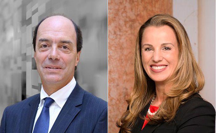 Arbeiten künftig zusammen: Nunzia Thiriot (r.), Leiterin Asset Management der Bremer Kreditbank, und Jean-Pierre Grimaud, Chef von OFI Asset Management