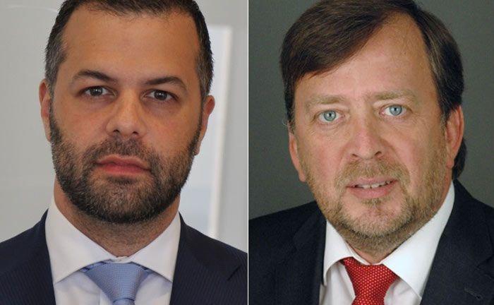 Ramin Fatemieh (l.) und Oliver Malitius, beide von der UBS