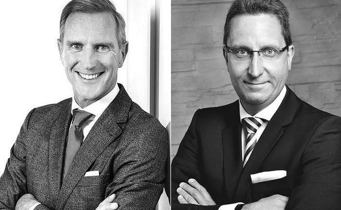 Haben einen finanzstarken Investor im Hintergrund: Die Gründer und Geschäftsführer von Tsei Capital, Oliver Wilhelm (l.) und Michael Amann