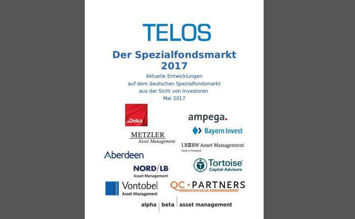 Screenshot der Telos-Studie zum Spezialfondsmarkt