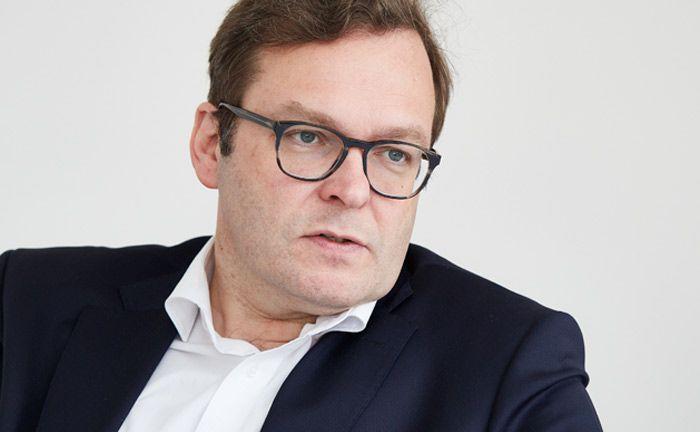 Hat die Zukunftsfähigkeit von Donner & Reuschel vor Augen: Vorstandssprecher Marcus Vitt