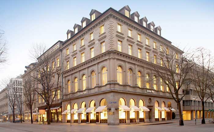 Zentrale der Julius Bär Gruppe in Zürich