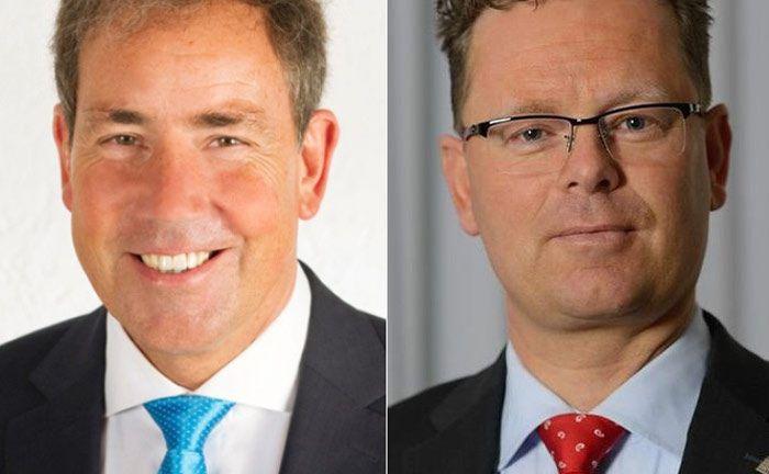 Stephan Brüdern (l.) und Heiko Droste: Unter ihrer Führung soll die Brüdern + Eisert Vermögensverwaltung aufgebaut werden.|© Brüdern + Eisert