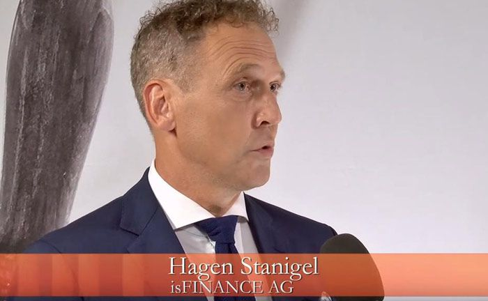 Hagen Stanigel vom Potsdamer Vermögensverwalter Isfinance