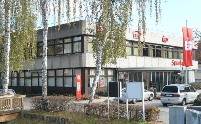 Niederlassung der Sparkasse Neckartal-Odenwald in Osterburken