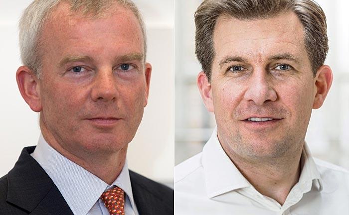 Pensato-Gründer Graham Clapp (r.) und RWC-Chef Dan Mannix