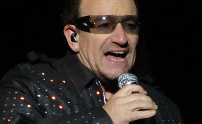 """Paul David Hewson alias Bono ist Frontmann der irischen Rockband U2 und Mitgründer des Nachhaltigkeitsfonds """"The Rise Fund"""""""