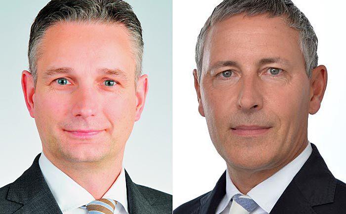 Jörg Schubert (l.), Vorstand von Bantleon in Deutschland und Jörg Bantleon, Gründer sowie Vorsitzender des Verwaltungsrates der Bantleon Bank |© Bantleon