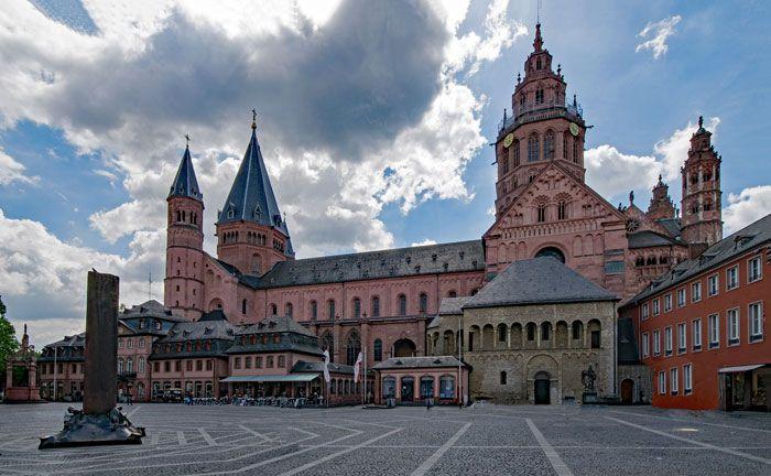 Der Dom St. Martin in Mainz, Landeshauptstadt von Rheinland-Pfalz|© Pixabay
