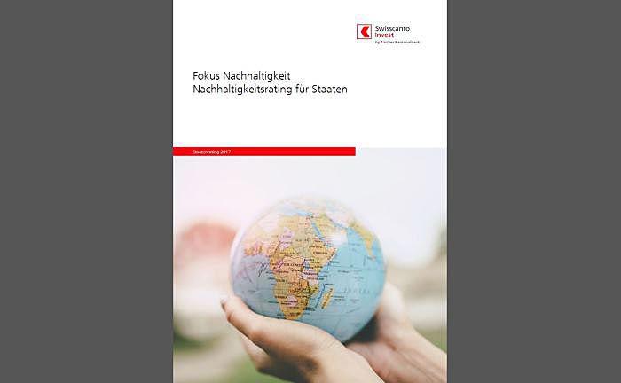 Bewertet mittlerweile 65 Staaten nach ESG-Kriterien: Screenshot des Nachhaltigkeits-Rankings 2017 von Swisscanto Invest