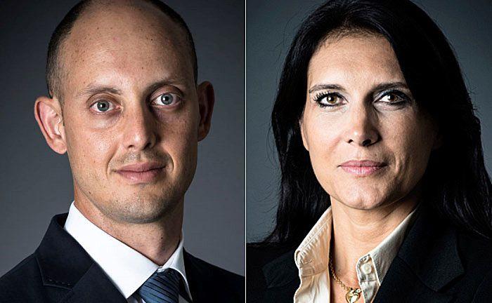 Managen den Fonds: Wesley Lebeau (l.) und Estelle Ménard