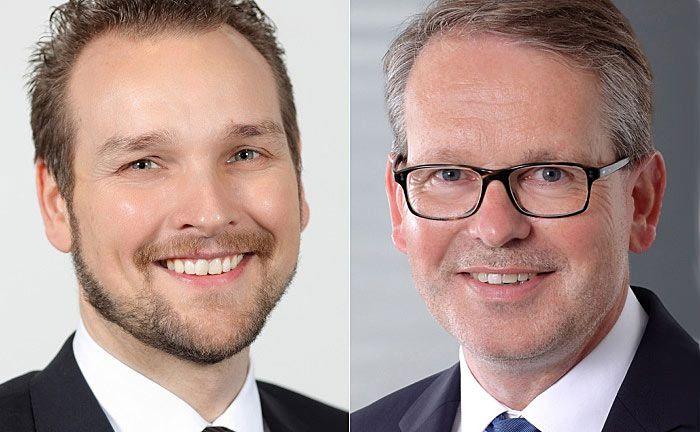 Übernehmen Schlüsselpositionen bei der OLB: Thorsten Rüters (l.) und Michael Saak