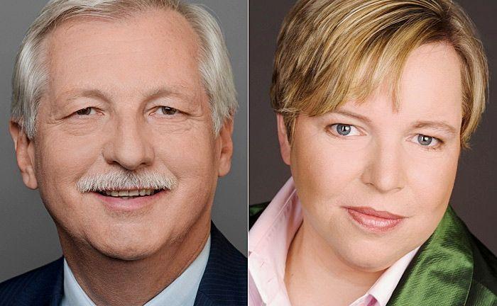 Rechnen mit weiterem Zuspruch für Private Equity: Peter Hielscher (l.), BVK-Vorstandsmitglied, und Ulrike Hinrichs, Geschäftsführendes BVK-Vorstandsmitglied|© BVK