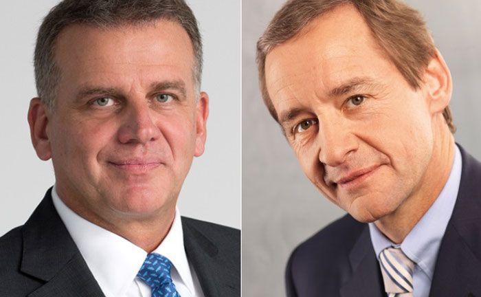 Übernehmen neben ihren Vorstandsposten künftig die Leitung zweier Dezernate bei der BW-Bank: Thomas Rosenfeld (l.) und Michael Horn