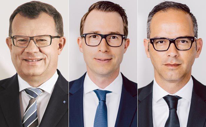 Bilden fortan die Geschäftsführung des Vertiva Family Office (v.l.n.r.): Manfred Mühlheim, Daniel Sauerzapf und Artur Montanhas