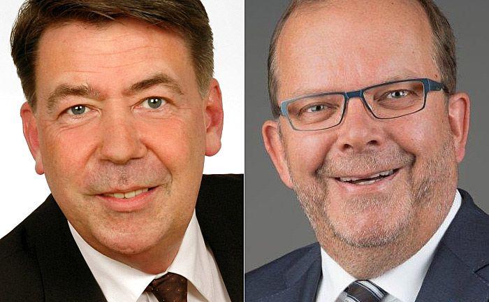 Arbeiten seit August dieses Jahres für Avison Young Deutschland: Kai-Uwe Koopmann (l.) und Volker Söhl