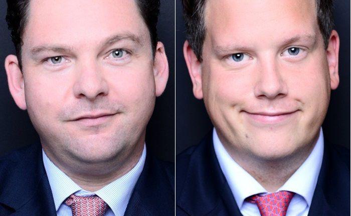 Wechseln beide von der Deutschen Bank in die Düsseldorfer Niederlassung von Sal. Oppenheim: Ulrich Wiemers (l.) und Christian Schmitz