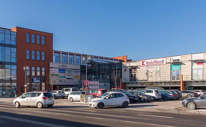 Das Investitionsobjekt des Pluswertfonds 169: Das Fachmarktzentrum im bayerischen Rothenburg ob der Tauber