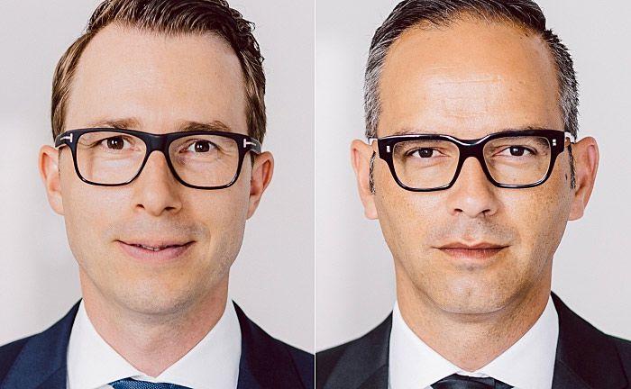 Waren kürzlich zu Geschäftsführern des Vertiva Family Office berufen worden: Daniel Sauerzapf (l.) und Artur Montanhas