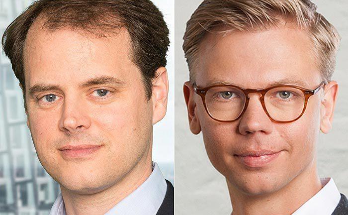 Tim Sievers (l.), Gründer sowie Geschäftsführer von Deposit Solutions und Savedo-Gründer-Geschäftsführer Christian Tiessen