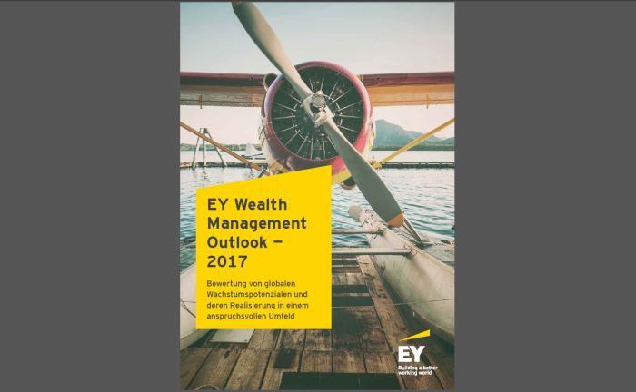 Screenshot des EY Wealth Management Outlook 2017
