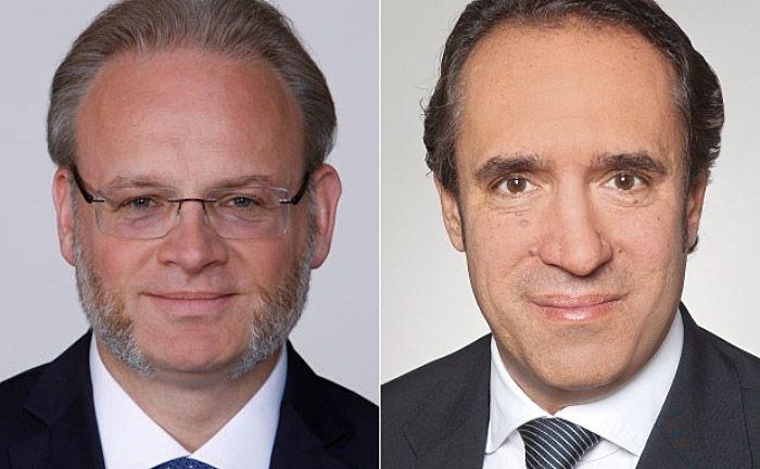 Jörgchristian Klette (l.) und Sven Oberle von der Wirtschaftsprüfungsgesellschaft EY