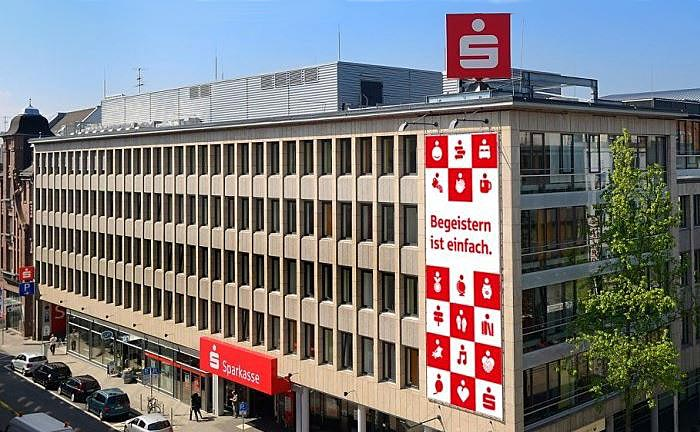 Die Sparkasse Karlsruhe