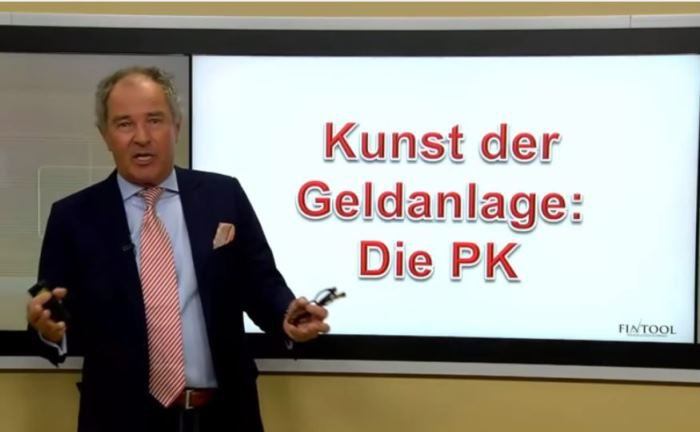 Erklärt wie Pensionskassen bei der Geldanlage vorgehen: Professor Erwin Heri von der Lernplattform Fintools