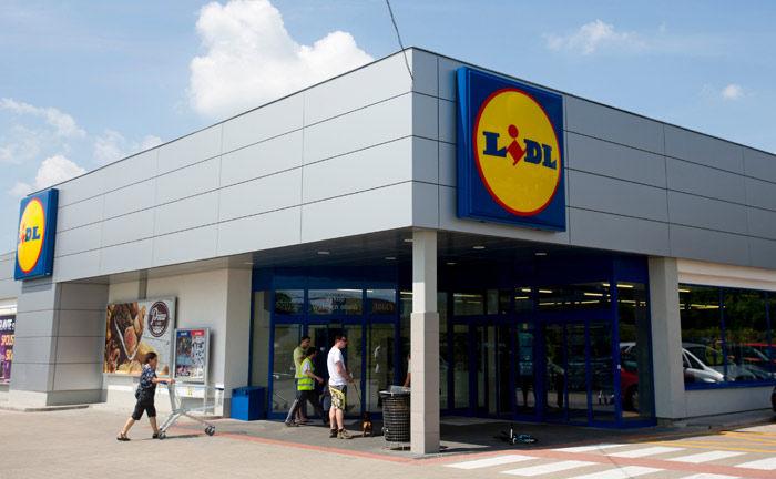 Lidl-Filiale in der tschechischen Hauptstadt Prag |© Bloomberg