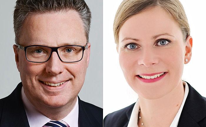 Martin Liebernickel (l.) und Mareike Krämer wechseln zur Wirtschaftskanzlei Pöllath + Partners.