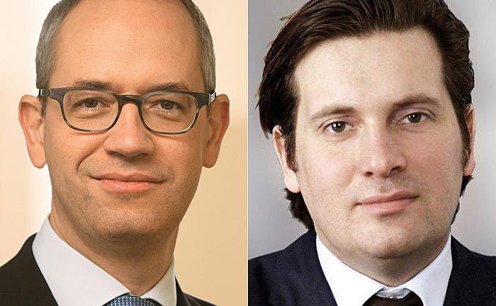 Triuva-Chef Wenzel Hoberg (l.) und Christopher Garbe