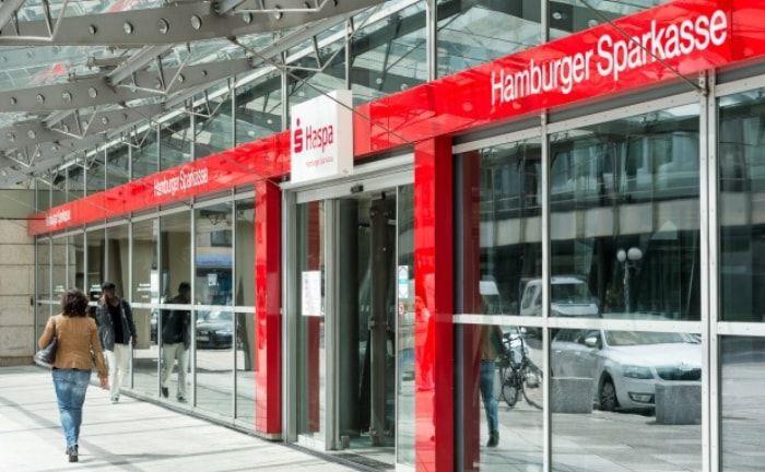 Haspa-Zentrale am Hamburger Adolphsplatz: Das Institut sucht einen neuen Bereichsleiter Treasury