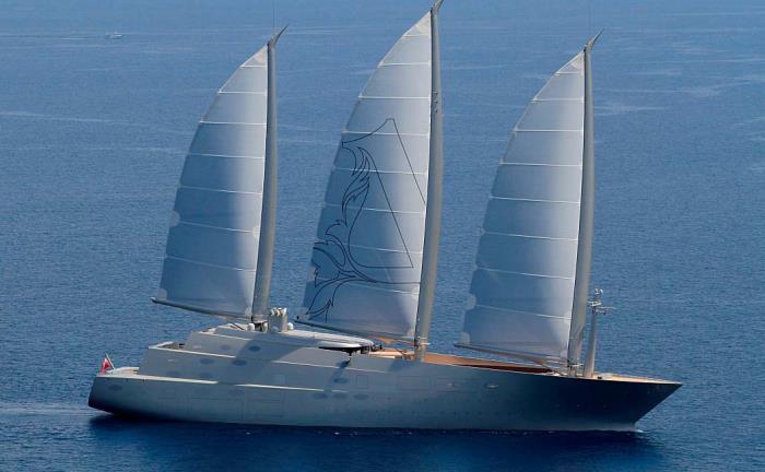 Sailing Yacht A: Der Dreimaster aus Kiel führt mit Abstand das Ranking der größten Luxus-Segler an.  |© Foto: Peter Seyfferth, TheYachtPhoto.com