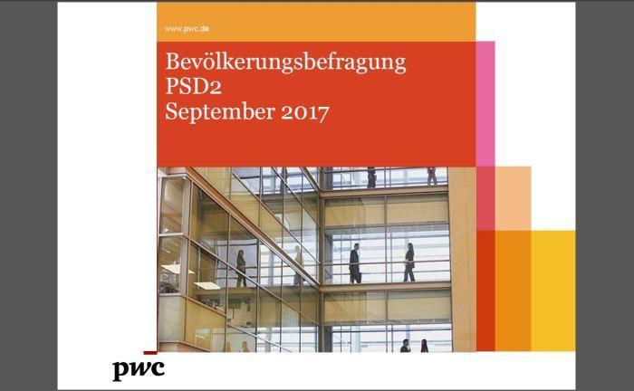 Die PWC-Studie zu PSD2: Die Autoren sehen die Bank der Zukunft als Mischung aus Silicon Valley und Sparkasse. |© PWC