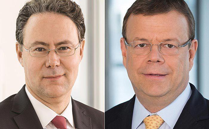 Frank Hagenstein (l.) und Klaus Martini: Sie lösen Rainer Neske und Hans-Jörg Vetter als Aufsichtsratsmitglieder ab. |© LBBW Asset Management
