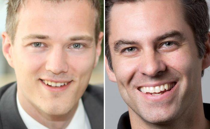 Ralf Heim von Fincite (l.) und Nicholas Ziegert von W&Z Fintech sehen bei derzeitigen Robo-Advisor großen Verbesserungsbedarf.