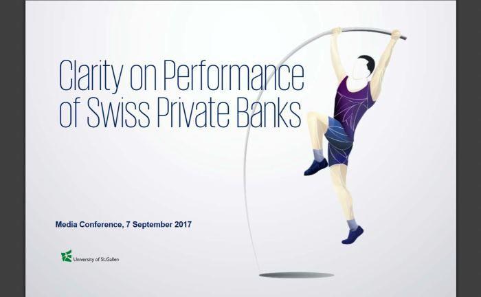 Deckblatt der KPMG-Studie: Noch haben sich die Gegenmaßnahmen nicht auf Performance der Schweizer Banken ausgewirkt. |© KPMG Schweiz