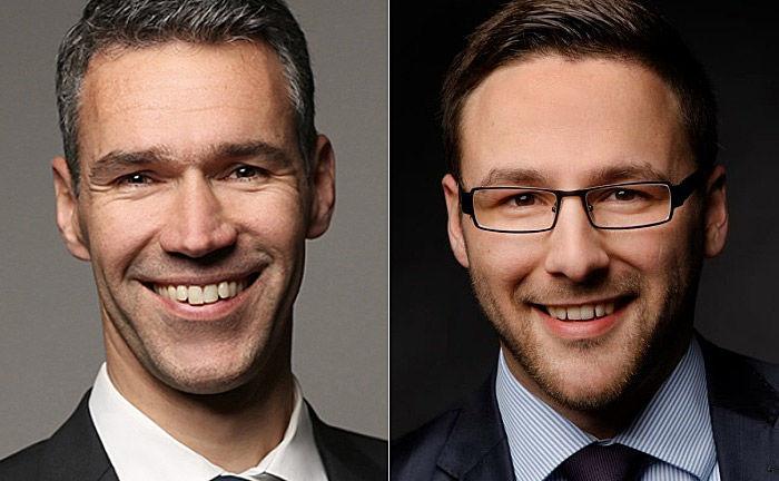 Sven Wiede (l.) und Peter Körner: Die Positionen der beiden Neuzugänge wurden eigens geschaffen. |© TBF Gruppe