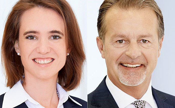 Anna Katharina Marx (l.) und Gerald Stadler: Die beiden Neuzugänge arbeiten am Wiener Standort des Instituts. |© ZKB Österreich