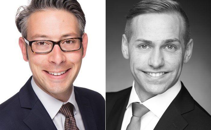 Stefano Hartl (l.) und Thomas Matis: Auf welchem Preisniveau Research-Leistungen bepreist werden, steht noch nicht fest. Die Modelle aber kristallisieren sich bereits raus.|© KPMG