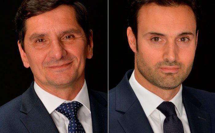 DNCA-Neuzugänge Pascal Gilbert und François Collet: Die Anleihe-Experten stoßen zum Absolute-Return-Team der Franzosen.