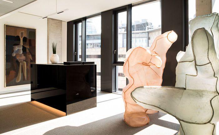 Innenraum des neuen Wealth-Management-Standortes: Pictet Deutschland ist nun auch in Stuttgart vor Ort.