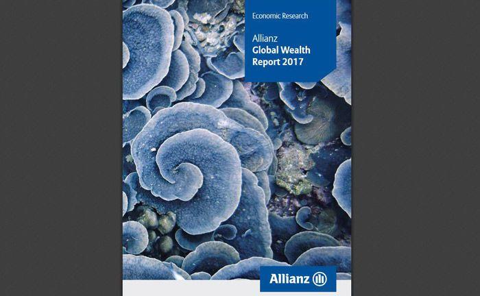 Screenshot der mittlerweile achten Auflage des Allianz Global Wealth Report: Ein Jahrzehnt nach Beginn der Finanzkrise ist die Welt so reich wie nie zuvor.|© Allianz