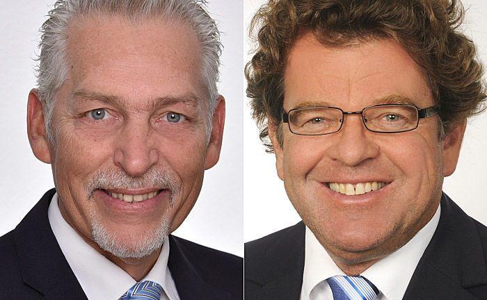 Marco Böhm (l.) leitet den Standort Berlin und soll in den Fidal-Vorstand aufrücken sowie Markus Ketterer, der Leiter der Geschäftstelle Heidelberg. |© Fidal