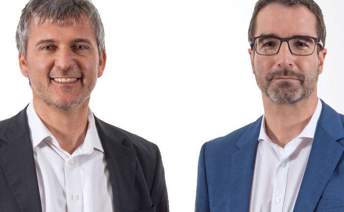 Jochen Knoesel (l.) und Ulrich Ronge sind die Gründer und geschäftsführenden Gesellschafter der Würzburger Vermögensverwaltung Knoesel & Ronge.