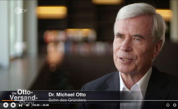 Michael Otto, Sohn des Gründers Werner Otto, übernahm bei Deutschlands größtem Versandhaus die Geschäfte seines Vaters.|© ZDF